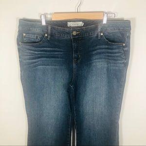 torrid Jeans - Torrid Slim Bootcut Blue Jeans size 20S